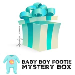 Other - MYSTERY BOX⚡️4 Pcs Toddlers Boy Fleece Footie